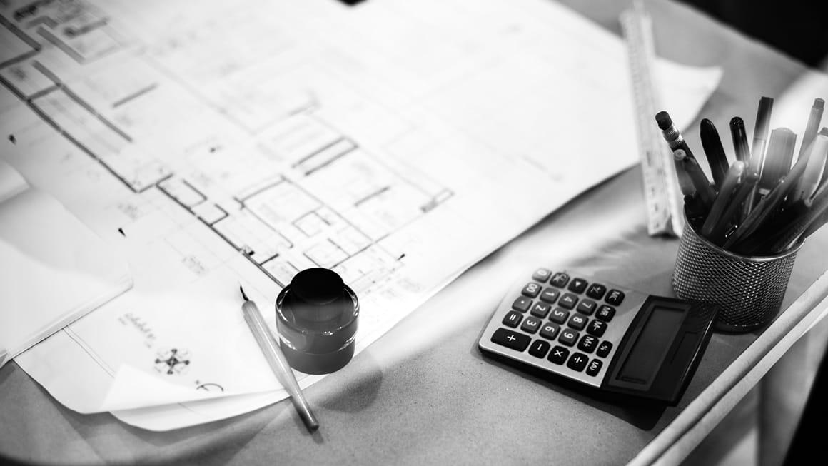 Schreibtisch Feldsien Architekten